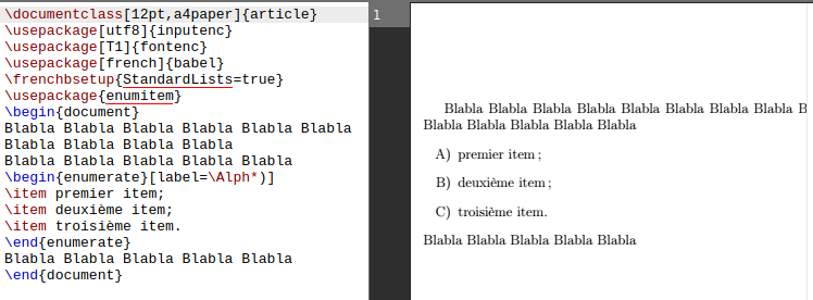 LaTeX/List Structures