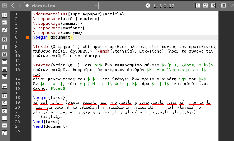 Texmaker (free cross-platform latex editor)